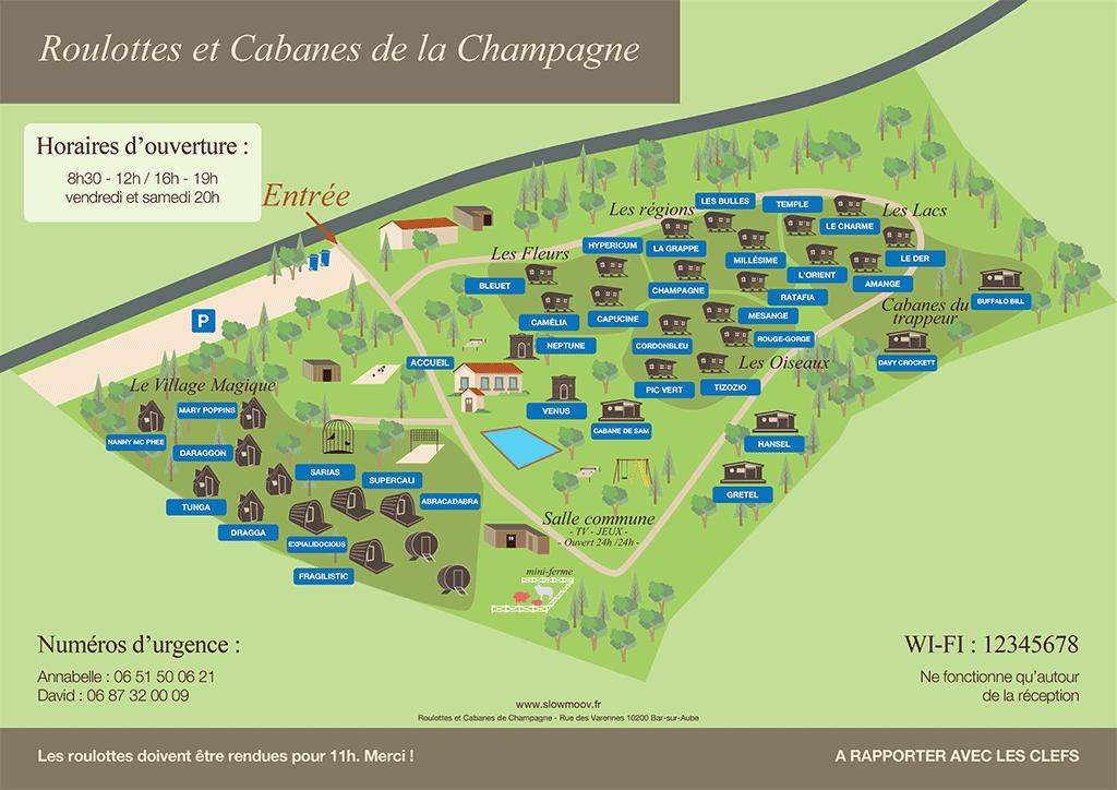 plan village champagne 2018